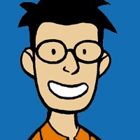 Gene Luen Yang's self portrait